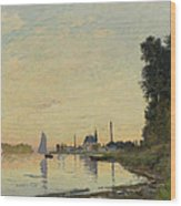 Argenteuil Late Afternoon Wood Print