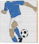 Argentina Soccer Player1 Wood Print