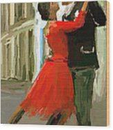 Argentina Tango Wood Print