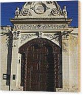 Argentinian Door Decor 3 Wood Print