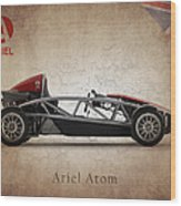Ariel Atom Wood Print