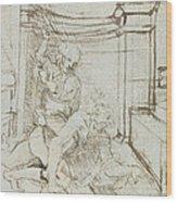 Aristotle And Phyllis Wood Print