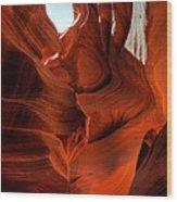 Arizona - Antelope Canyon 004 Wood Print