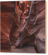 Arizona - Antelope Canyon 005 Wood Print