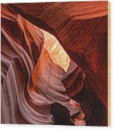 Arizona - Antelope Canyon 006 Wood Print