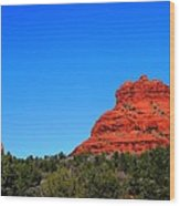 Arizona Bell Rock Hdr Wood Print