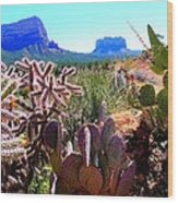 Arizona Bell Rock Valley N4 Wood Print