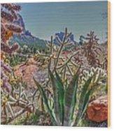 Arizona Bell Rock Valley N7 Wood Print