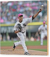 Arizona Diamondbacks V Chicago White Sox Wood Print
