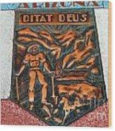 Arizona Ditat Deus Wood Print