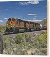 Arizona Express Wood Print