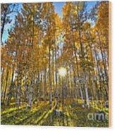 Arizona Gold Wood Print