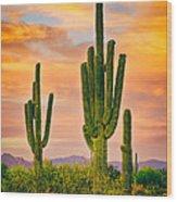 Arizona Life Wood Print