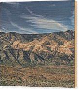 Arizona Lonesome Wood Print