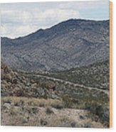 Arizona Mountains Wood Print