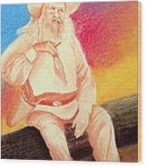 Arizona Philosopher Wood Print