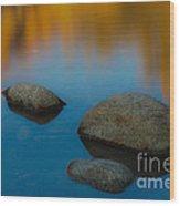 Arizona Reflection Wood Print