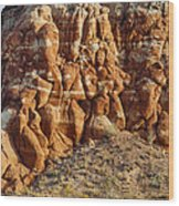 Arizona Rock Formation Wood Print