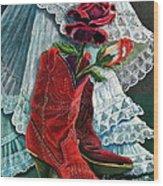 Arizona Rose Wood Print