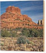Arizona Sedona Bell Rock  Wood Print