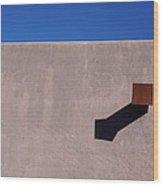 Arizona Stucco With Scupper Wood Print