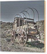 Arizona Wagon Wood Print