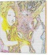 Arkadasim Essek Wood Print