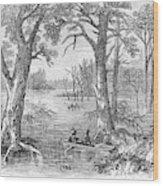 Arkansas Sunken Lands Wood Print