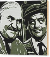 Arkwright And Granville Wood Print