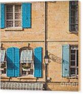 Arles Windows Wood Print