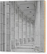 Arlington Amphiteather Arches And Columns Wood Print
