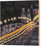 Arlington Bridge And Cemetery Wood Print