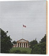 Arlington National Cemetery - Arlington House - 01131 Wood Print