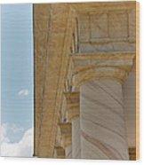 Arlington National Cemetery - Arlington House - 12121 Wood Print by DC Photographer