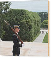 Arlington National Cemetery - Tomb Of The Unknown Soldier - 01135 Wood Print by DC Photographer