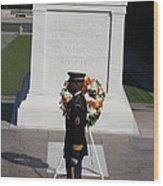 Arlington National Cemetery - Tomb Of The Unknown Soldier - 121212 Wood Print