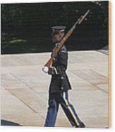Arlington National Cemetery - Tomb Of The Unknown Soldier - 12124 Wood Print