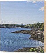 Armadale Isle Of Skye Wood Print
