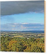 Armorican Landscape Wood Print by Olivier Le Queinec