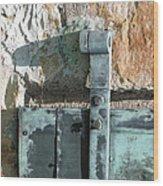 Armory Door 2 Wood Print