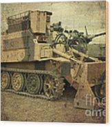 Armoured Power  Wood Print