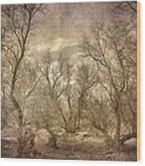 Arms Ghost Forest Wood Print