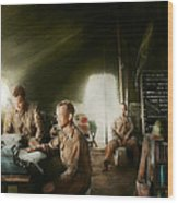 Army - Administration Wood Print