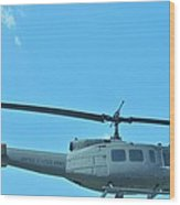 Army Helicopter Wood Print