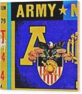 Army Navy 1979 Wood Print