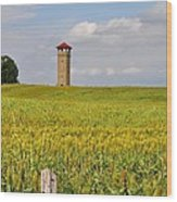 Army War College Tower Antietam Wood Print