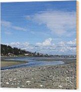 Arness Park Beach Wood Print