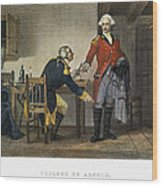Arnold And Andre, 1780 Wood Print