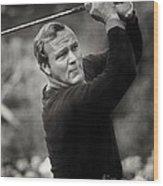 Arnold Palmer Pro-am Golf Photo Pebble Beach Monterey Calif. Circa 1960 Wood Print