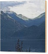 Around Lake Crescent - Washington Wood Print